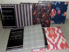 Tommy Hilfiger Center Pleated Window Valance Paisley Navy, Red, Pink, Stripe ++