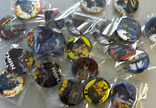 Super Hero Badges- Perfect for Party Bags - Batman, Superman and Spiderman