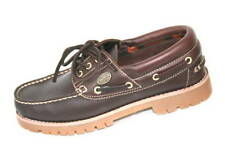 Dockers Shoes Lace Up Moccasin Coffee Brown