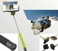 For Samsung iPhone5S 4S ESCE Wireless Bluetooth Selfie Extendable Monopod Holder