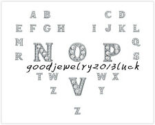 1pc 2014 New Floating Charms for Glass Memory Locket necklace 26 Letters A-Z