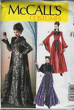McCall's 6818 Steampunk Costume 4-20 UNCUT Once Upon a Time Evil Queen