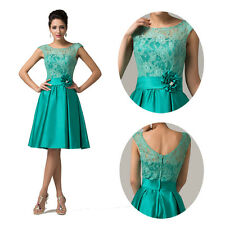 Womens Designer Party Dress Short Bridesmaid Ball Gown Formal Evening Cocktail