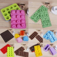 Cake Cookie Chocolate Silicone Gel Mold Mould Baking Tray