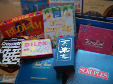 TRADITIONAL BOARD GAMES vintage & other sets - chose from drop-down menu