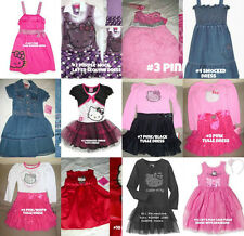 * NWT NEW GIRLS HELLO TULLE DRESS SZ 2T 3T 4 5 6 6x Multi-Styles