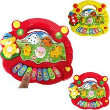 Cute Useful Popular Baby Kid Animal Farm Piano Music Toy Developmental New TOP