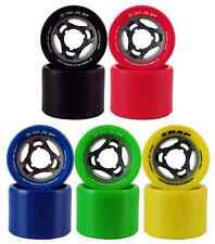 Atom Snap 91A Wide Derby Roller Skate Wheels - Same Quality Urethane as Poison!