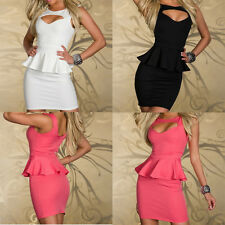 Ladies Sexy Party Dress Cocktail Evening Dress Club Wear Mini Dress