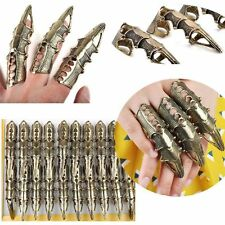 8Pcs/Lot Wholesale Gothic Punk Hinged Knuckle Full Finger Armor Rings Claw Bulk