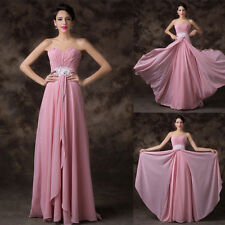Strapless Womens Pop Celebration Prom Ballgown Cocktail Party Evening Long Dress