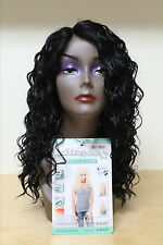 LACE WIG 100% Malaysian Human hair Premium Blended, Deep Loose Wave Curl  20""