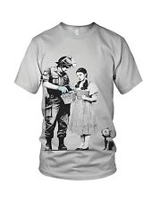 Banksy Street Art Dorothy Police Search Men's And Ladies Fashion T Shirts