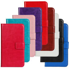 Magnetic PU Flip Leather Slot Wallet Covers Cases For LG Optimus L70 D325 MS323