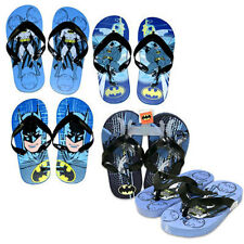 BATMAN Children Kids Boys Flip Flops Slipper Beach Sandals 13/1 - 1 PAIR NEW