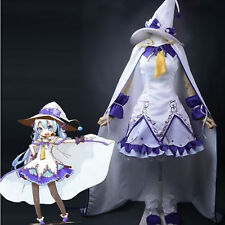 Classic SNOW MIKU 2014 Magical Girl Vocaloid Cosplay Costume Dress - Custom Made