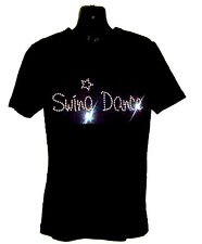 SWING DANCE CHILDRENS T SHIRT      CRYSTAL RHINESTONE DANCE DESIGN...any size