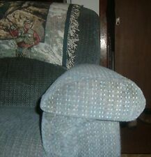 "faux leather fabric couch,chair arm covers & back covers 22""x19"""