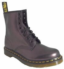 Dr Doc Martens Womens 1460 Purple Shimmer Smooth Leather Boots