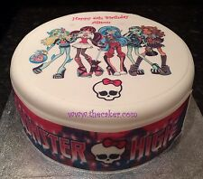 Monster High 2 Edible Icing/Frosting Topper/Decorations for Cake, Cupcakes Buns
