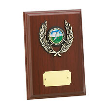 Multi sport wooden plaque award dance, paintballing, football Engraving