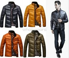 Stylish Mens Boutique Down Stand Collar Warm Winter Tops Jackets Coat W0053 GBW