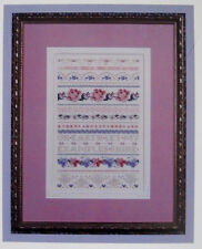 Just Nan - Vintage Counted Cross Stitch charts + beads - YOU CHOOSE!