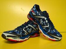 Mizuno Wave Creation 15 Running Shoes (M) Blue/White J1GC140162 NEW 2014