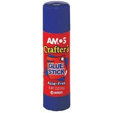 Amos Crafters Glue Stick Craft Non Toxic Acid Free HUGE MULTI BUY DISCOUNT