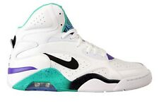 537330-102 NIKE AIR FORCE 180 Mid White Atomic Teal Hyper Grape *New In Box*