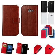 For Samsung Galaxy Trend Lite S7392 Magnetic Flip Stand Wallet Card Case Leather