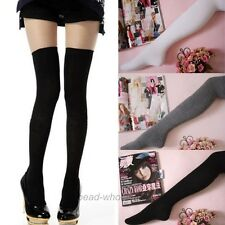 1 Pair Fashion Women's 5 Colors Long Socks Thigh-Highs Over Knee Stockings NEW