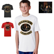 walking dead pewdiepie pew die pie gamer youtube kids  T SHIRT
