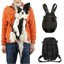 Pet Dog Puppy Sling Tote Carrier Backpack Front Net Travel Soft Bag BLK S/M/L/XL