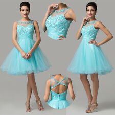 2014 CHEAP Short Formal Bridesmaid Wedding Cocktail Prom Party Gown Mini Dresses