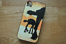 Star Wars AT AT Iphone 4 4S 5 5S Hard Case/Cover Vintage Pop Art Graphic