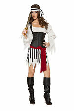 Pirates of the Caribbean Angelica Halloween Costume woman