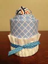 NEW Baby Receiving Blanket and Onesie Cupcake Baby Shower Gift