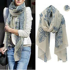 New Fashion Women Long Cotton Scarf Wrap Ladies Shawl Girls Large Silk Scarves