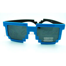 PIXEL Pixelated Sunglasses Cool Party Raver Novelty Shades