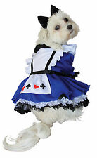 Alice in the Wonderland Dog Costume - Halloween Collections (Size XS to XL)