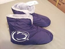 New W/Tag Penn State Booties House Slippers Shoes
