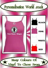PERSONALISED NORTHERN SOUL KEEP THE FAITH VEST TOP