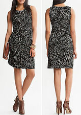 NWT Banana Republic New $130 Issa Collection Wrap-Tie Dress Size 2P, 8P,10P,12P