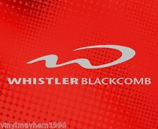 Whistler Blackcomb vinyl sticker decal Skiing Snowboard Resort Olympics Canada
