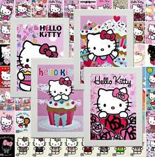 Hello Kitty Kitten Cat Picture Poster Print Bedroom Wall Decor gift  (Set D)