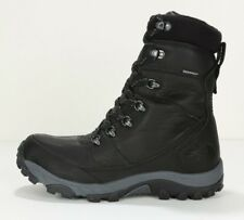 2014 MEN'S THE NORTH FACE CHILKAT LEATHER INSULATED TALL BOOTS CU43KZ2 BLACK