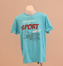 OWK Mens Printed T Shirt - BLUE - SIZE L - NEW