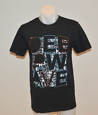 OWK Mens Printed T Shirt - BLACK - SIZE SMALL - NEW