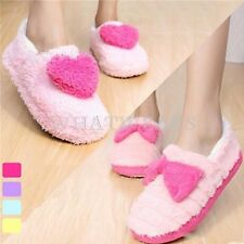 Lovely Womens Heart Shape Indoor Anti-slip Warm Shoes Foot Covering Slippers GBW